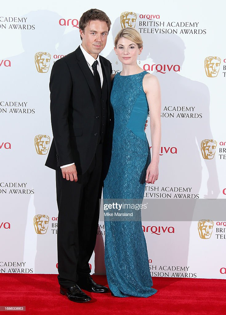 Andrew Buchan and Jodie Whittaker during the Arqiva British Academy Television Awards 2013 at the Royal Festival Hall on May 12, 2013 in London, England.
