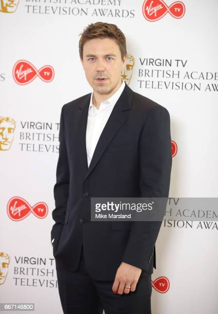 Andrew Buchan attends the nominations announcement for the Virgin TV British Academy Television Awards at BAFTA on April 11 2017 in London England