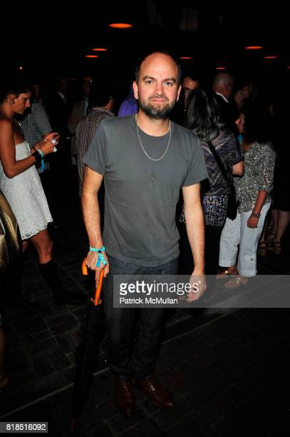 Andrew Buckler attends The Target Kaleidoscopic Fashion Spectacular Lights up New York City at The Standard on August 18 2010 in New York City
