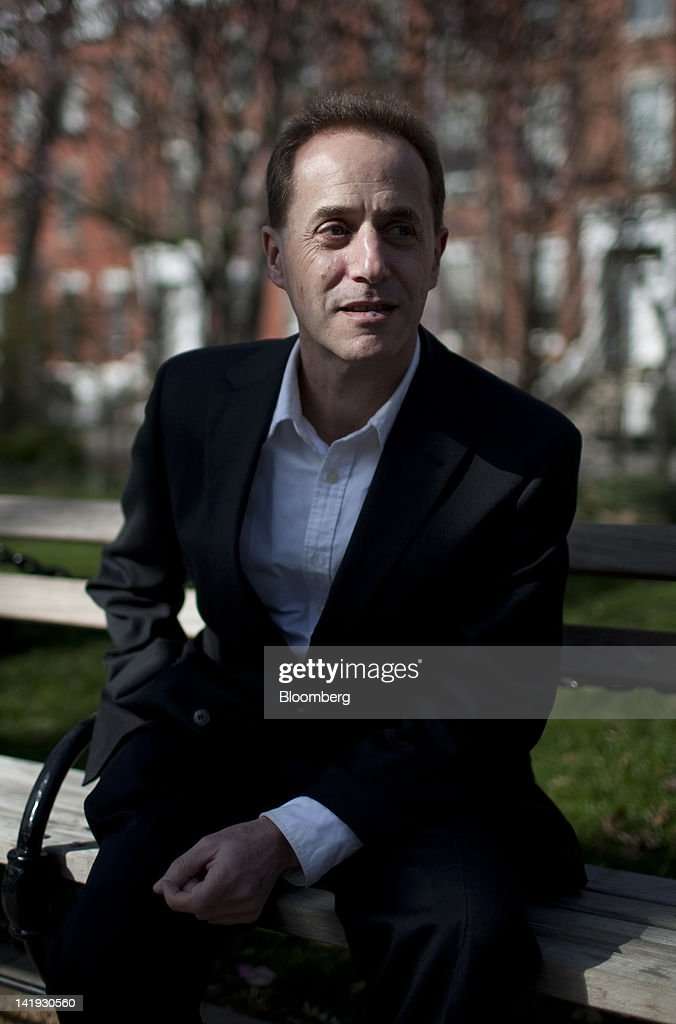 Andrew Caplin, an economics professor at New York University, sits for a photograph in New York, U.S., on Monday, March 26, 2012. 'The Federal Housing Administration's economic projections are surreal,' said Caplin. 'They must believe there will be very few readers in Congress able to critically review such a complex report.' Photographer: Scott Eells/Bloomberg via Getty Images