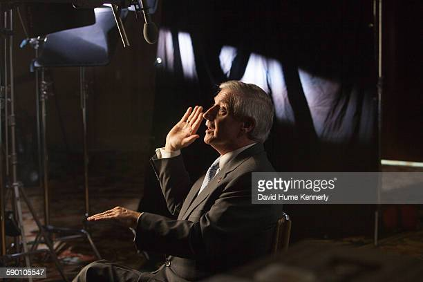 Andrew Card former White House Chief of Staff for President George W Bush is interviewed for 'The Presidents' Gatekeepers' documentary October 12 in...
