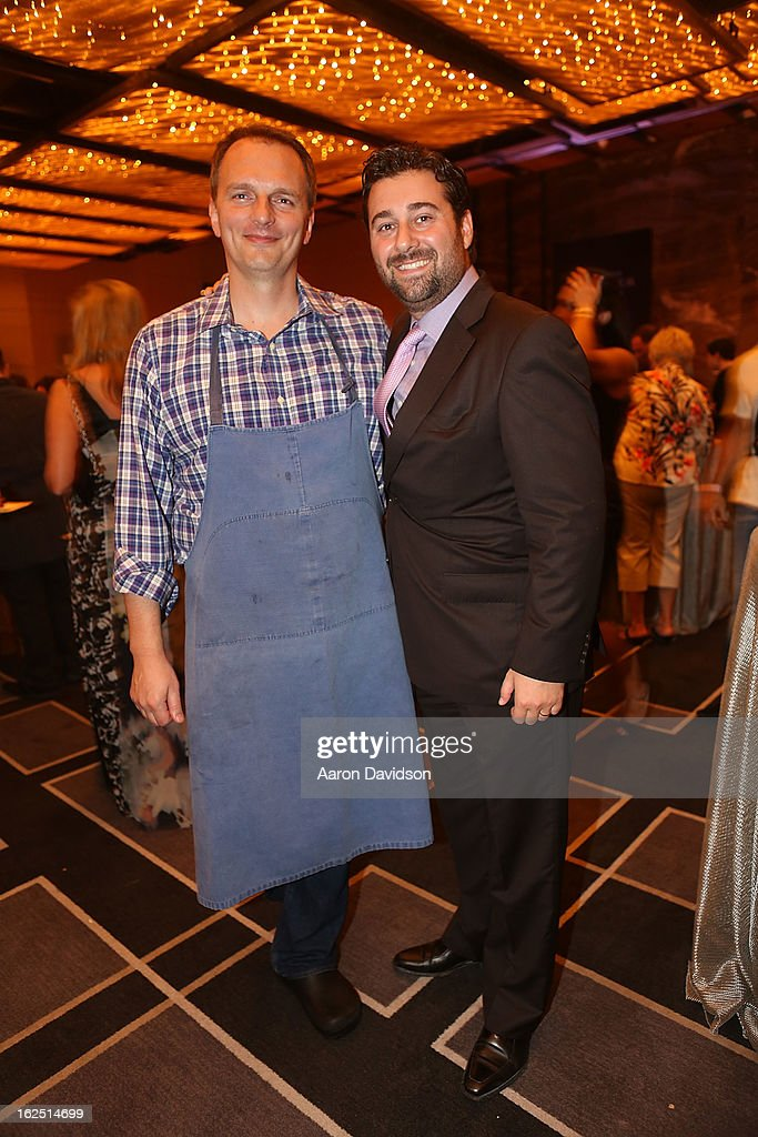 Andrew Carmellini and Franck Savoy Chicken Coupe Dinner at W South Beach Hotel & Residences on February 23, 2013 in Miami Beach, Florida.
