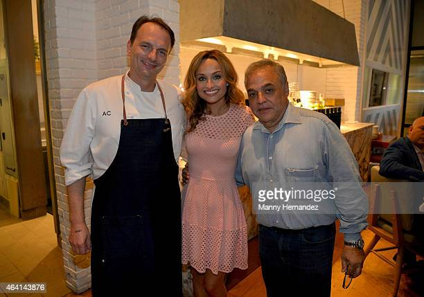 Andrew Carmellini Giada De Laurentiis and Lee Brian Schrager attend A Perfect Pairing A Brunch hosted by Giada De Laurentiis and Andrew Carmellini...
