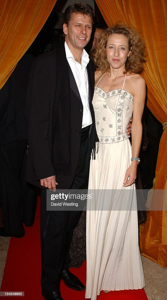 Andrew Castle and Guest during 2006 Angel's Ball at Jumeirah Hotel Carlton Tower