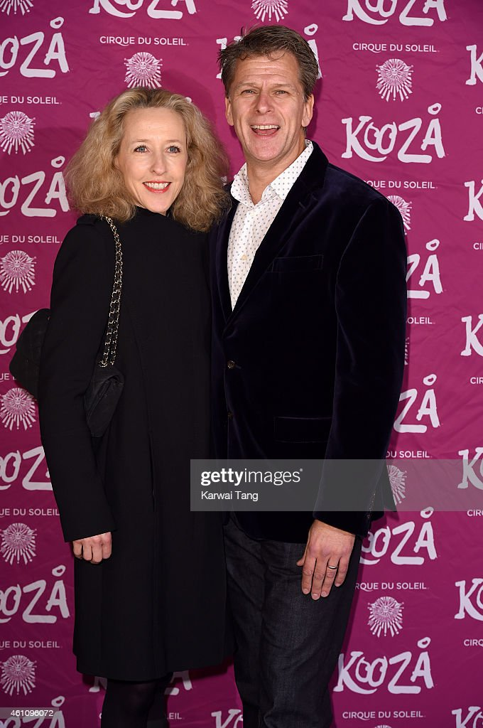 Andrew Castle and Sophia Castle attend the VIP performance of 'Kooza' by Cirque Du Soleil at Royal Albert Hall on January 6 2015 in London England