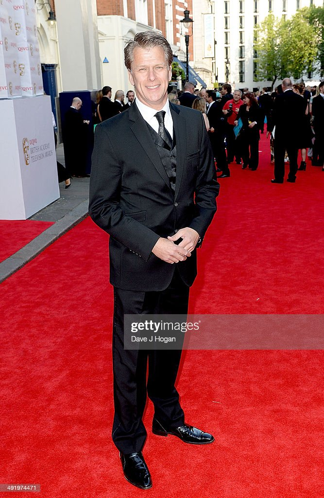 Andrew Castle attends the Arqiva British Academy Television Awards at Theatre Royal on May 18 2014 in London England