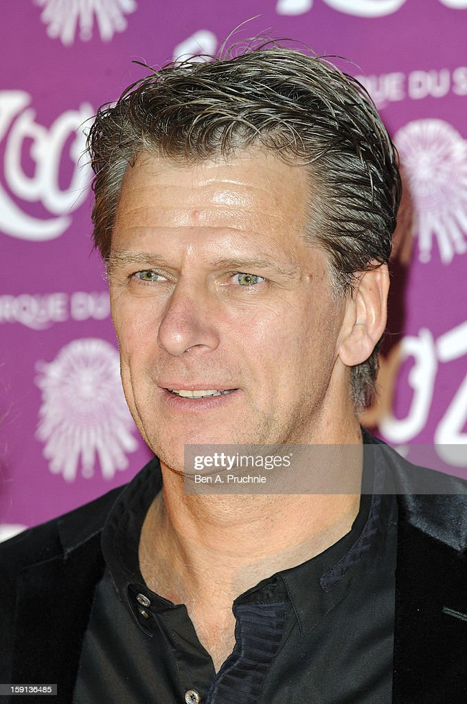 Andrew Castle attends the opening night of Cirque Du Soleil's Kooza at the Royal Albert Hall on January 8 2013 in London England