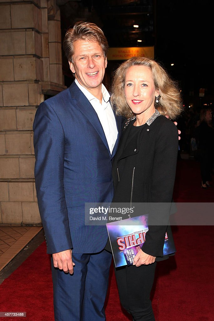 Andrew Castle attends the press night performance of 'Memphis The Musical' at The Shaftesbury Theatre on October 23 2014 in London England