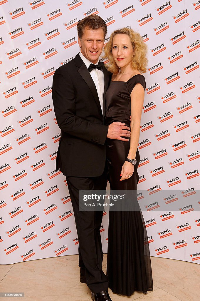 Andrew Castle attends The Variety Club Annual Dinner at Grosvenor House on March 3 2012 in London England