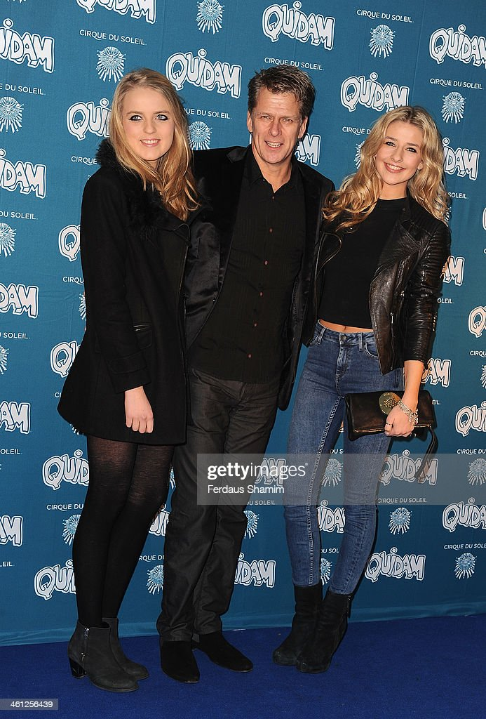 Andrew Castle attends the VIP night for Cirque Du Soleil Quidam at Royal Albert Hall on January 7 2014 in London England