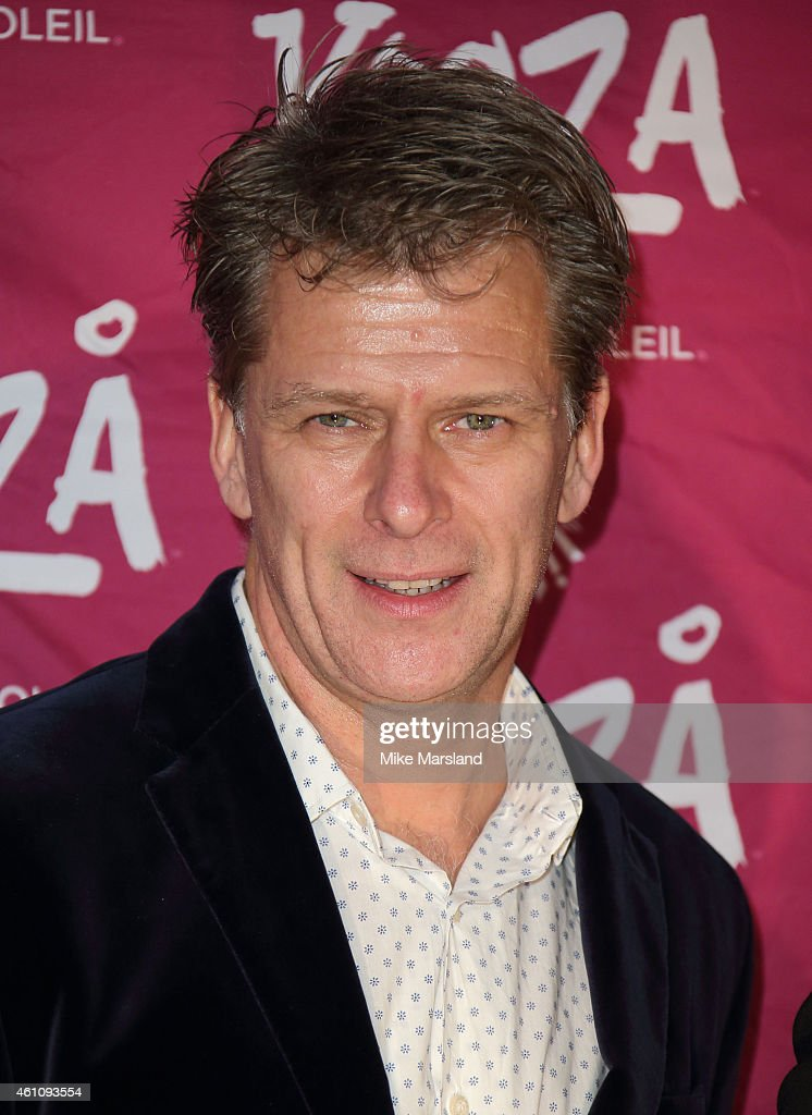 Andrew Castle attends the VIP performance of 'Kooza' by Cirque Du Soleil at Royal Albert Hall on January 6 2015 in London England