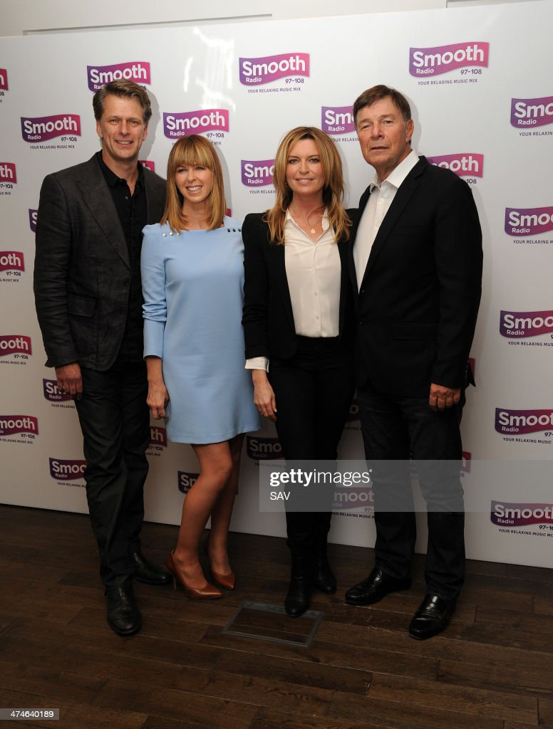 Andrew Castle Kate Garraway and Tina Hobley are announced as new presenters on Global's Smooth Radio at Global Radio Studios on February 24 2014 in...
