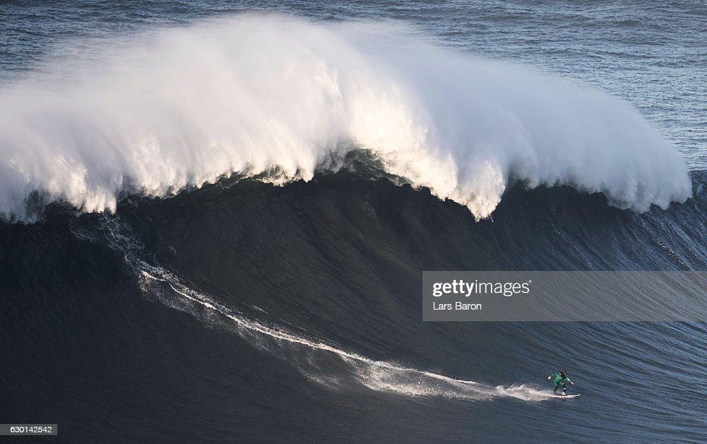 Nazare Big Wave Surfing
