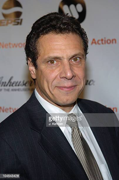 Andrew Cuomo during 3rd Annual Action Awards Benefit at The Lighthouse Chelsea Piers in New York City New York United States