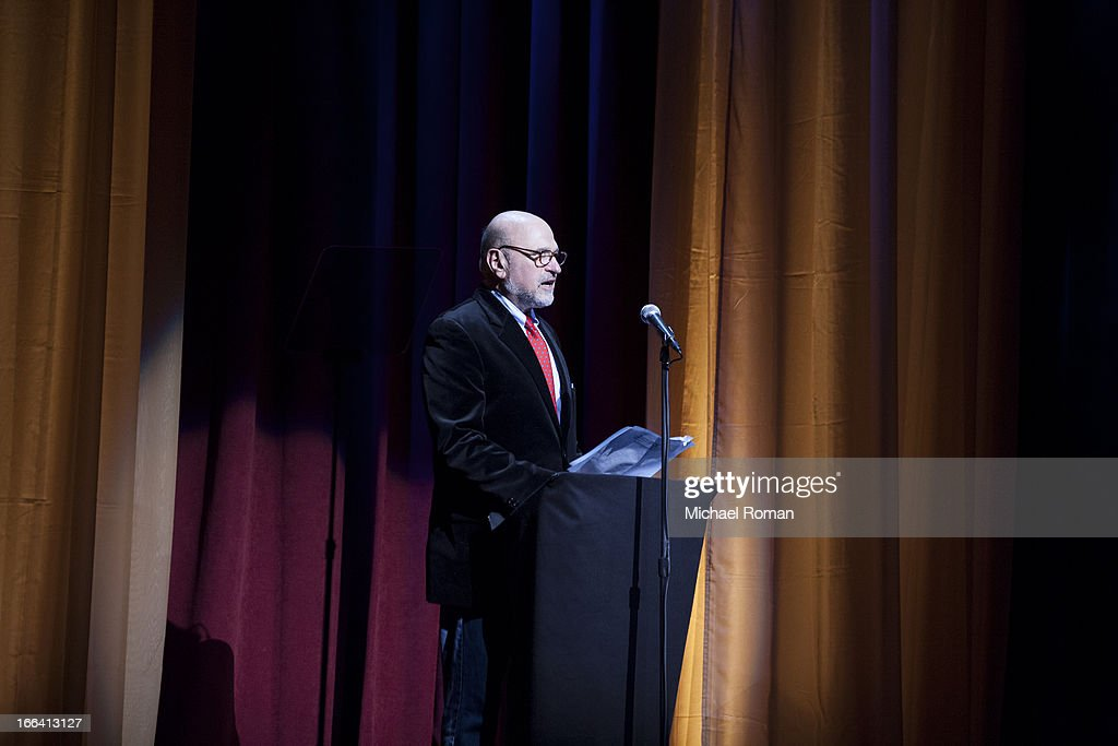 Andrew Davis attends the Roger Ebert Memorial Tribute at Chicago Theatre on April 11, 2013 in Chicago, Illinois.