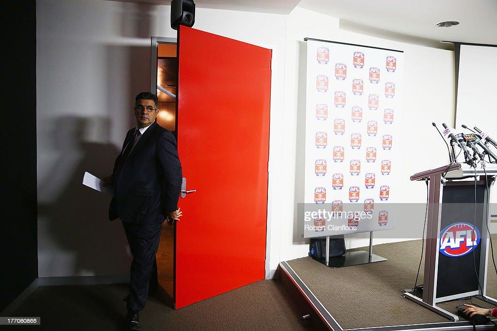 Andrew Demetriou Press Conference