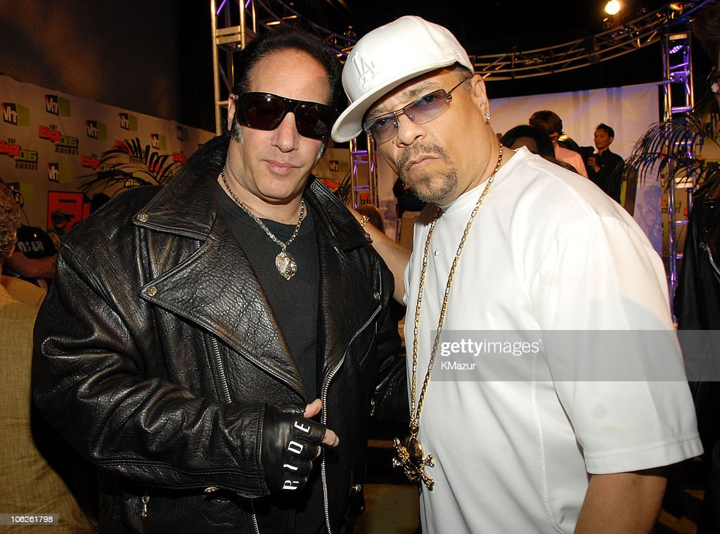 <a gi-track='captionPersonalityLinkClicked' href=/galleries/search?phrase=Andrew+Dice+Clay&family=editorial&specificpeople=678985 ng-click='$event.stopPropagation()'>Andrew Dice Clay</a> and <a gi-track='captionPersonalityLinkClicked' href=/galleries/search?phrase=Ice-T&family=editorial&specificpeople=213017 ng-click='$event.stopPropagation()'>Ice-T</a> during VH1 Big in '06 - Red Carpet at Sony Studios in Culver City, California, United States.