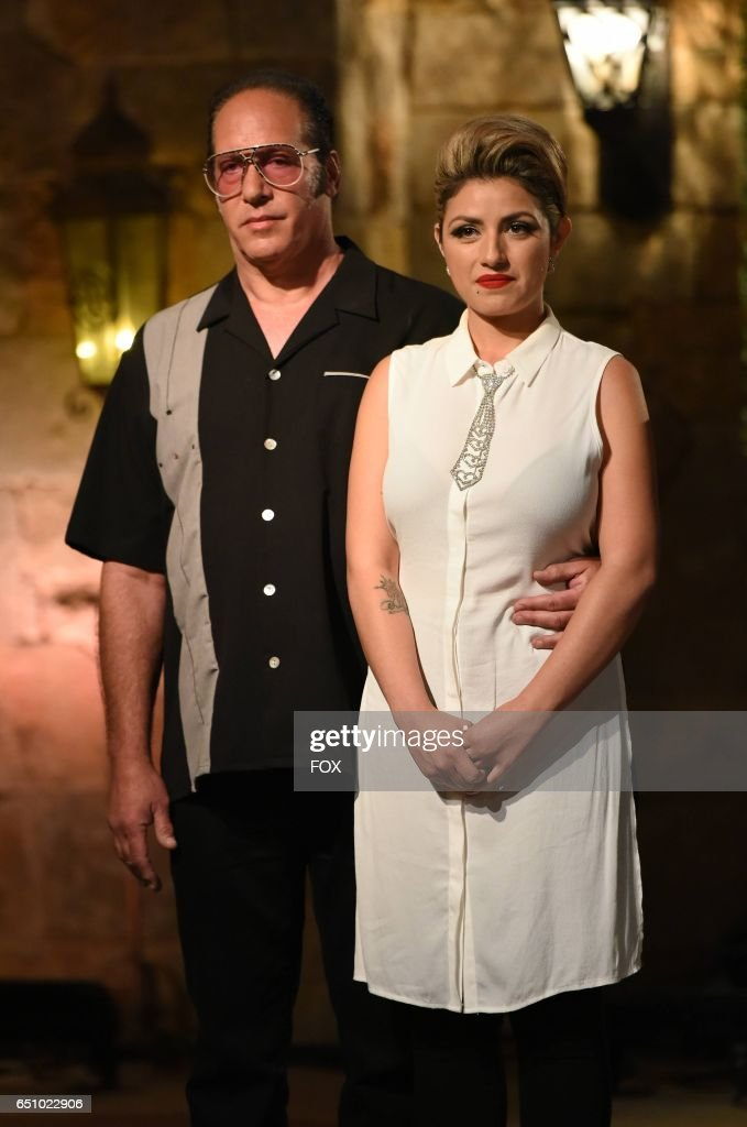 Andrew Dice Clay and Valerie Vasquez in the Champion is Crowned season finale episode of MY KITCHEN RULES airing Thursday, March 2 (9:01-10:00 PM ET/PT), on FOX.