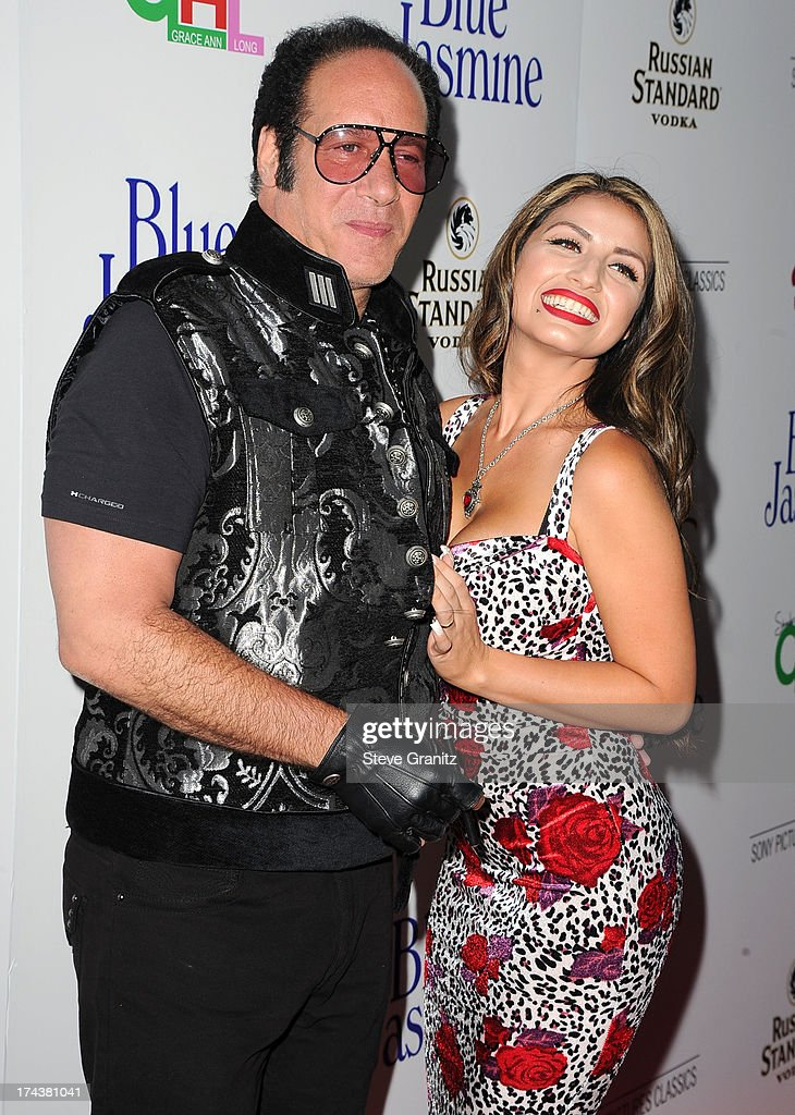 Andrew Dice Clay arrives at the Sony Pictures Classics Presents Los Angeles Premiere Of 'Blue Jasmine' at the Academy of Motion Picture Arts and Sciences on July 24, 2013 in Beverly Hills, California.