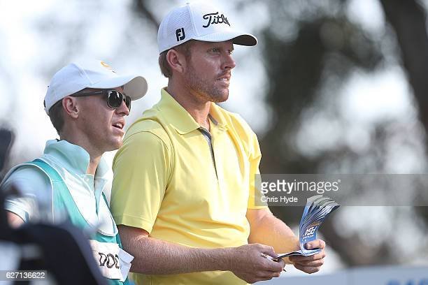 Andrew Dodt of Australia looks on during day two of the 2016 Australian PGA Championship at RACV Royal Pines Resort on December 2 2016 in Gold Coast...