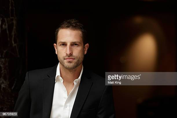 Andrew Durante of the Wellington Phoenix poses during the 2010 ALeague Finals Series Launch at the Sheraton on the Park Hotel on February 15 2010 in...