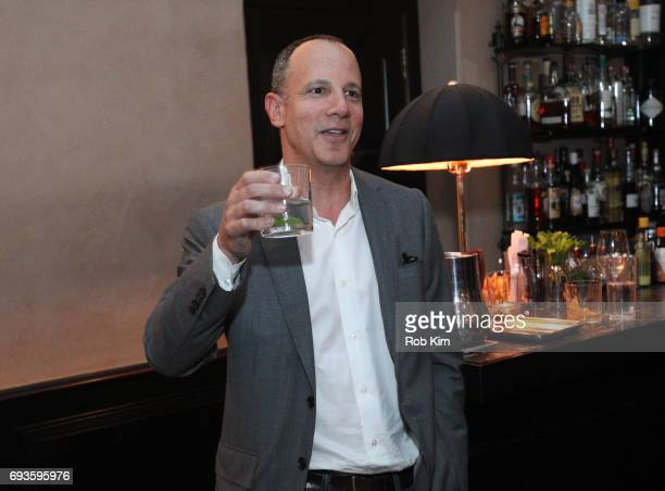 Andrew Essex makes an intro at the book launch party for 'The End of Advertising' at Greenwich Hotel on June 7 2017 in New York City