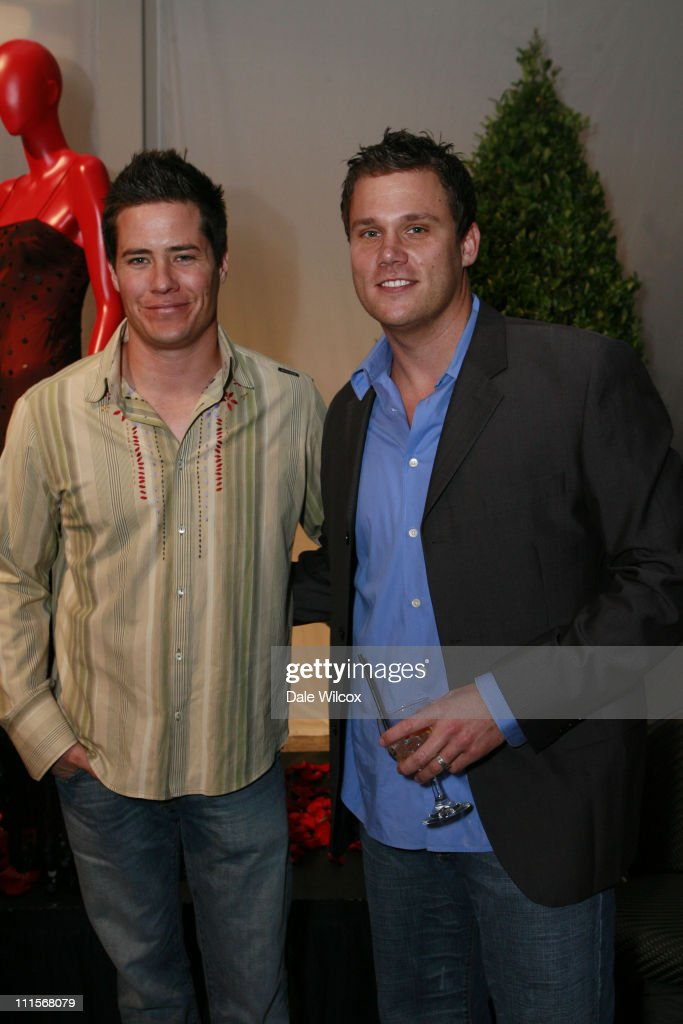Andrew Firestone and Bob Guiney during Partida Tequila Party at Republic in Los Angeles April 20 2006 at Republic in Los Angeles CA United States