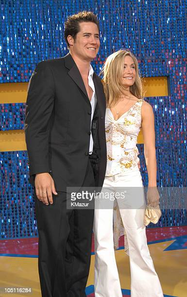 Andrew Firestone and Jennifer Schefft during 2003 MTV Movie Awards Arrivals at The Shrine Auditorium in Los Angeles California United States