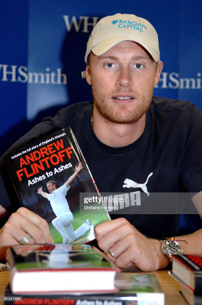 Andrew Flintoff Book Signing in Manchester