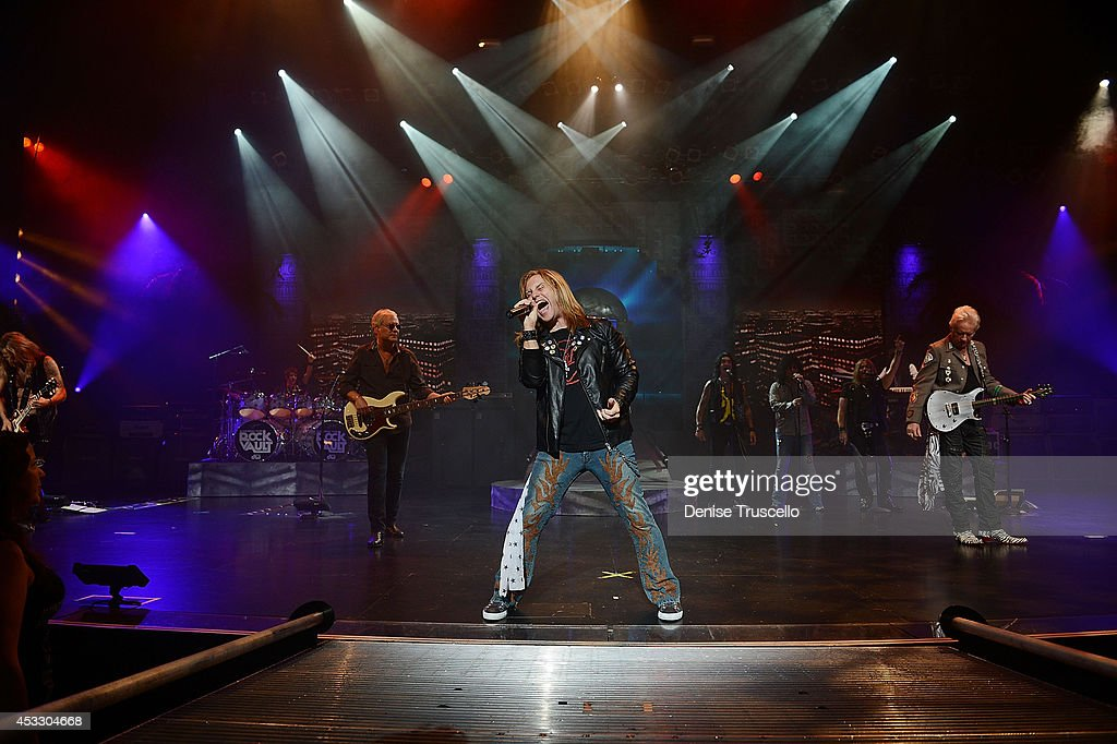 Andrew Freeman of Raiding the Rock Vault performs at the Westgate Las Vegas Resort and Casino on August 6, 2014 in Las Vegas, Nevada.