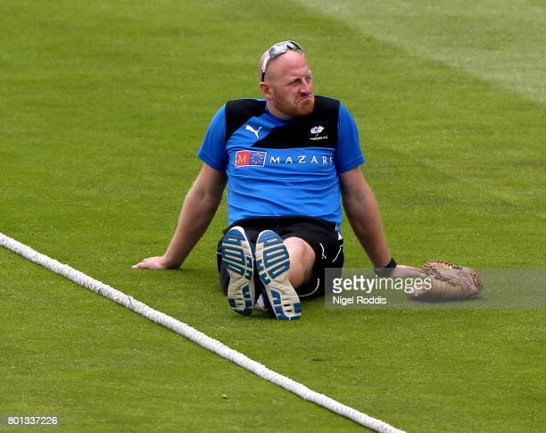 Andrew Gale Director of Yorkshire during the Specsavers County Championship Division One match between Yorkshire and Surrey at Headingley on June 26...