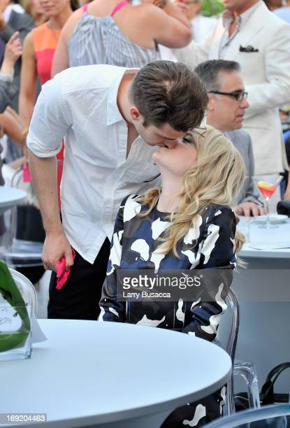 Andrew Garfield and Emma Stone attend the 2013 Peace Love A Cure Triple Negative Breast Cancer Foundation Benefit on May 21 2013 in Cresskill New...