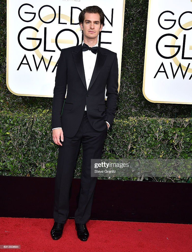 Andrew Garfield arrives at the 74th Annual Golden Globe Awards at The Beverly Hilton Hotel on January 8, 2017 in Beverly Hills, California.
