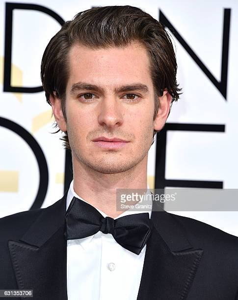 Andrew Garfield arrives at the 74th Annual Golden Globe Awards at The Beverly Hilton Hotel on January 8 2017 in Beverly Hills California