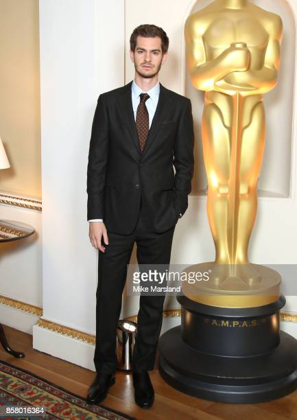 Andrew Garfield at the Academy of Motion Picture Arts and Sciences New Members Partyat Spencer House on October 5 2017 in London England