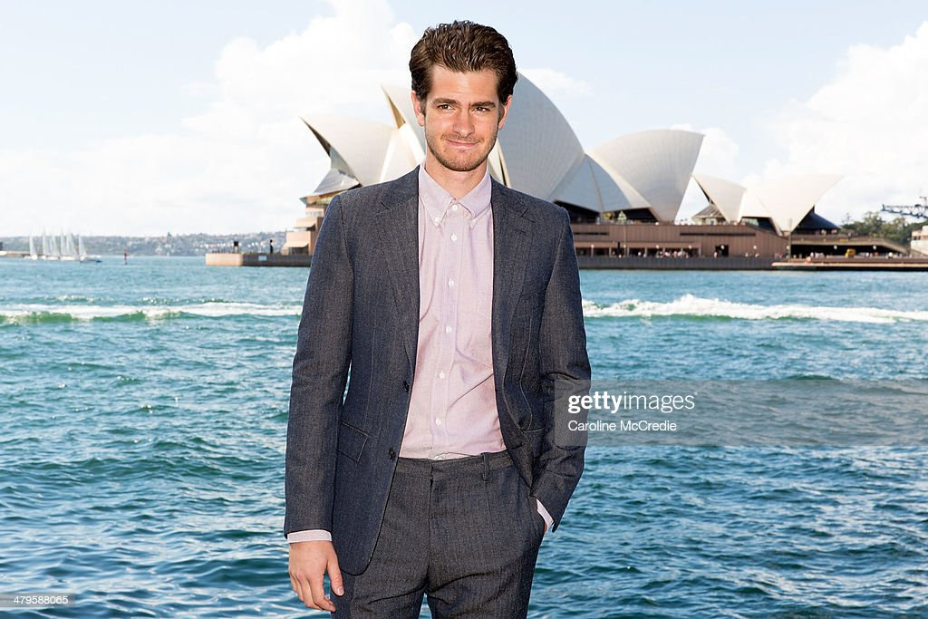 <a gi-track='captionPersonalityLinkClicked' href=/galleries/search?phrase=Andrew+Garfield&family=editorial&specificpeople=4047840 ng-click='$event.stopPropagation()'>Andrew Garfield</a> at 'The Amazing Spider-Man 2: Rise Of Electro' photocall on March 20, 2014 in Sydney, Australia.