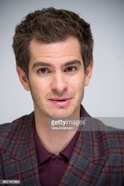 Andrew Garfield at the 'Breathe' Press Conference at the Four Seasons Hotel on October 16 2017 in Beverly Hills California