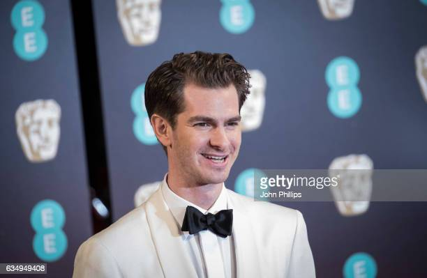 Andrew Garfield attends the 70th EE British Academy Film Awards at Royal Albert Hall on February 12 2017 in London England