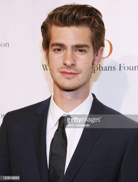 Andrew Garfield attends the 7th Annual Worldwide Orphans Foundation's Benefit Gala at Cipriani Wall Street on November 14 2011 in New York City