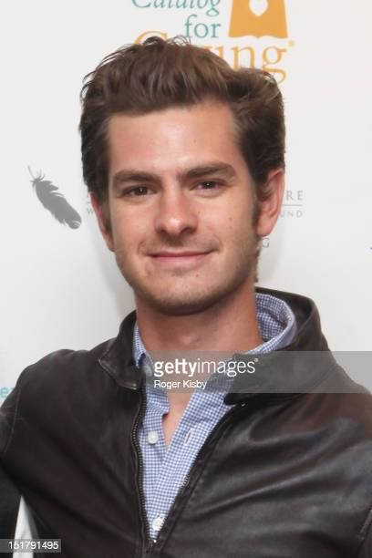Andrew Garfield attends the Annual Charity Day hosted by Cantor Fitzgerald and BGC Partners on September 11 2012 in New York United States