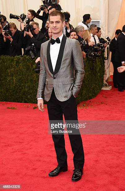 Andrew Garfield attends the 'Charles James Beyond Fashion' Costume Institute Gala at the Metropolitan Museum of Art on May 5 2014 in New York City