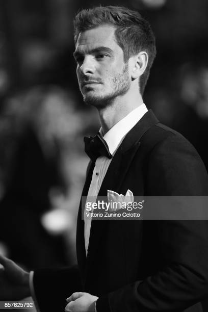 Andrew Garfield attends the European Premiere of 'Breathe' on the opening night gala of the 61st BFI London Film Festival on October 4 2017 in London...