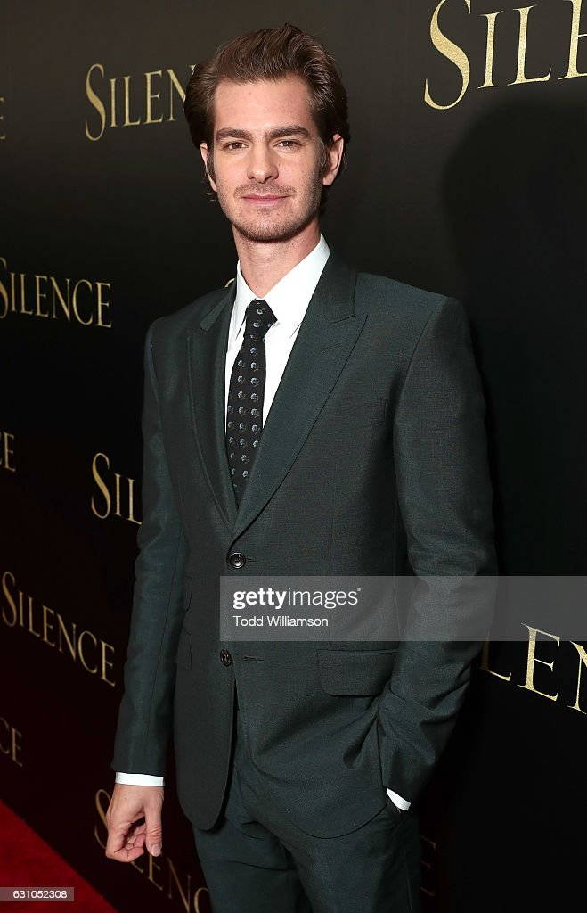 Andrew Garfield attends the premiere of Paramount Pictures' 'Silence' at the Directors Guild Of America on January 5, 2017 in Los Angeles, California.