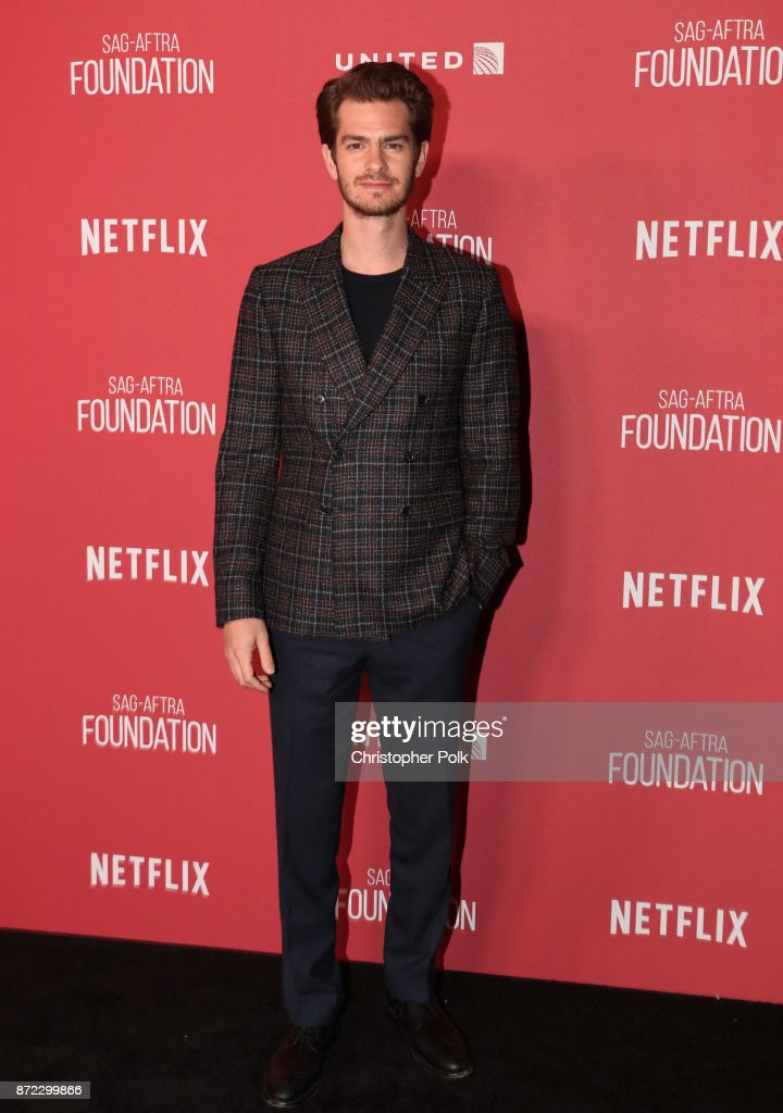 Andrew Garfield attends the SAG-AFTRA Foundation Patron of the Artists Awards 2017 at the Wallis Annenberg Center for the Performing Arts on November 9, 2017 in Beverly Hills, California.
