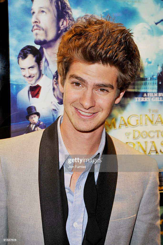Andrew Garfield attends the UK Premiere of 'The Imaginarium Of Doctor Parnassus' at the Empire Leicester Square on October 6, 2009 in London, England.