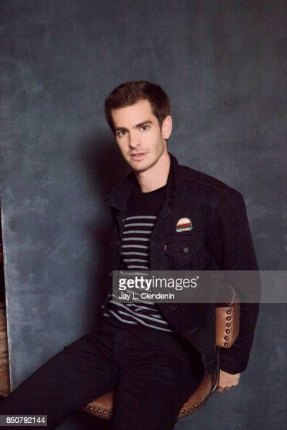 Andrew Garfield from the film 'Breathe' poses for a portrait at the 2017 Toronto International Film Festival for Los Angeles Times on September 12...