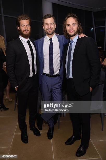 Andrew Garfield Joshua Jackson and Taylor Kitsch attend the 2014 GQ Gentlemen's Ball at IAC HQ on October 22 2014 in New York City