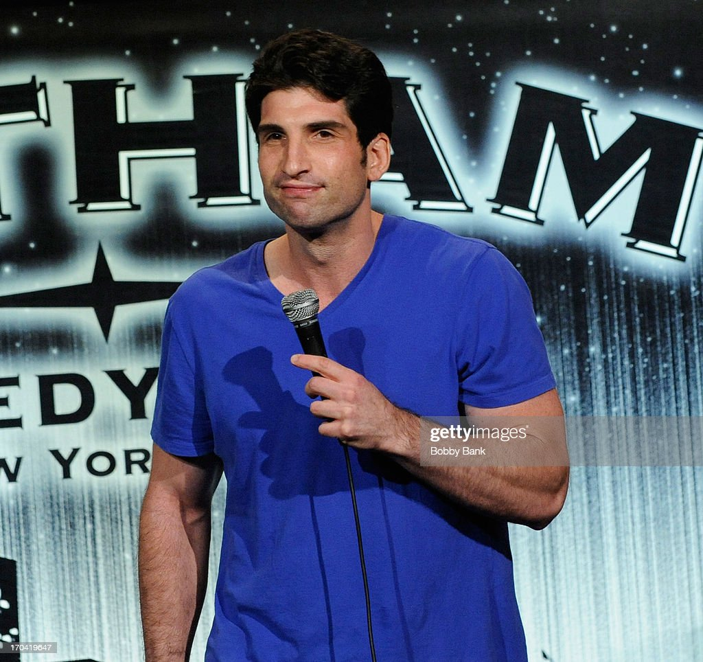 Andrew Ginsburg attends Laughter Saves Lives Comedy Night to Benefit The Tribute 9/11 Visitor Center at Gotham Comedy Club on June 12, 2013 in New York City.