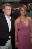Andrew Giuliani and Sarah Hughes during The Island New York City Premiere at Ziegfeld in New York City New York United States