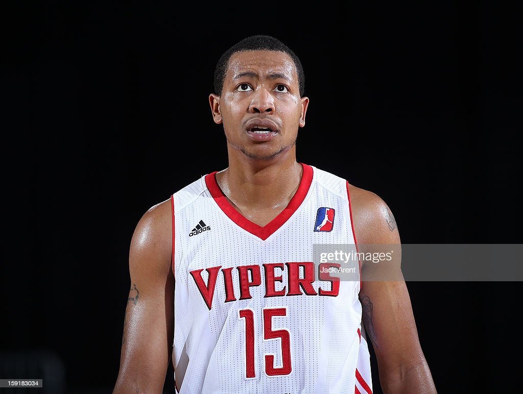 Andrew Goudelock #15 of the Rio Grande Valley Vipers looks up in frustration while playing against the Fort Wayne Mad Ants during the 2013 NBA D-League Showcase on January 9, 2013 at the Reno Events Center in Reno, Nevada.